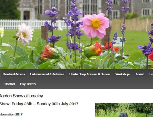The Garden Show at Loseley, Guildford, UK
