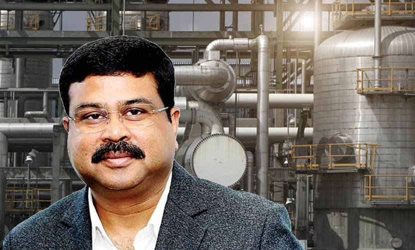 Steel Minister Dharmendra Pradhan